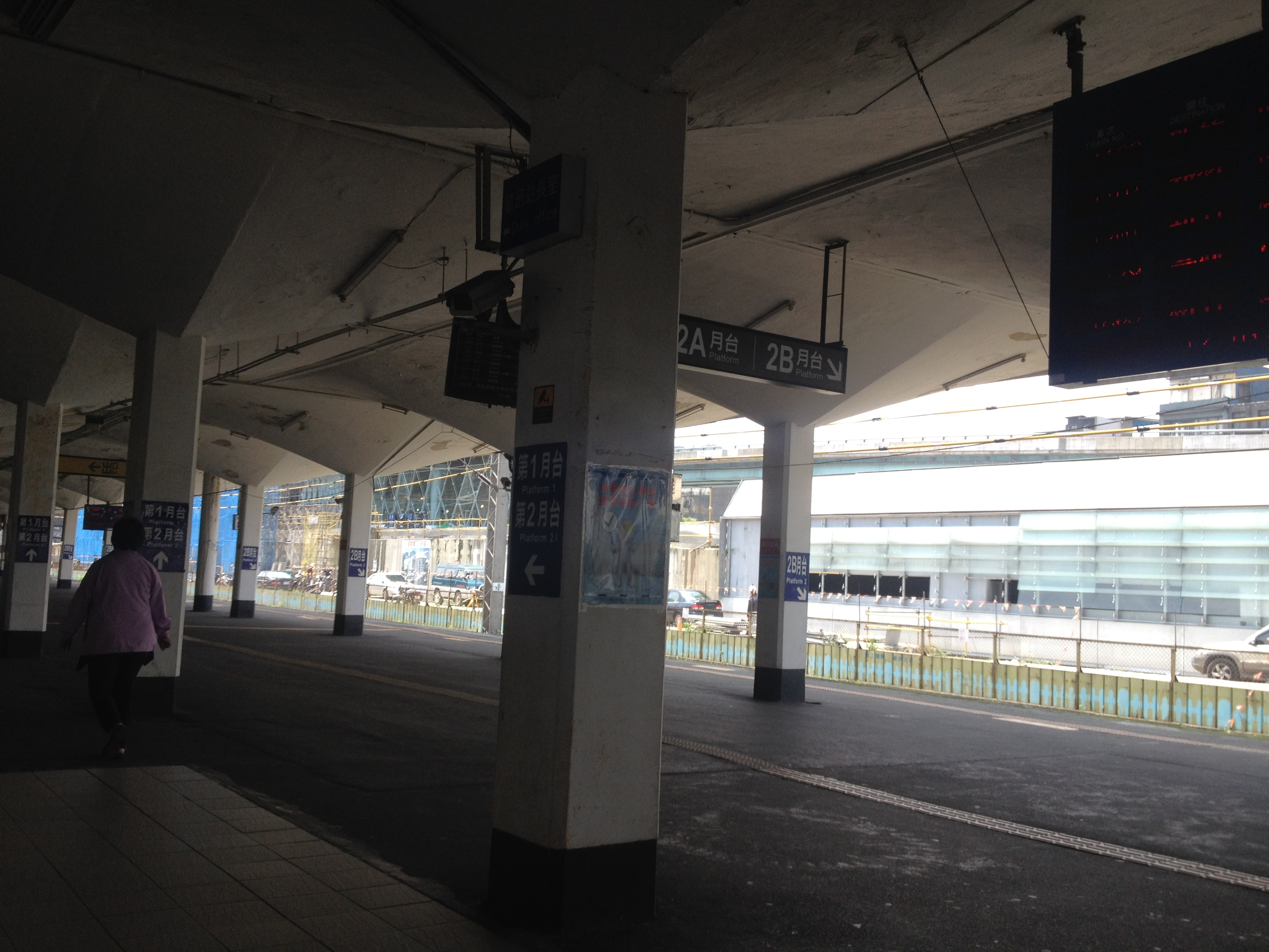 即將卸任的基隆火車站